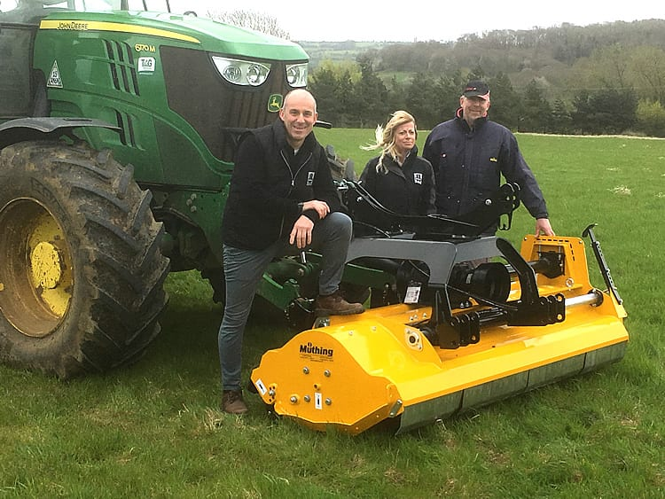 Simon Richard Ltd have confirmed the appointment of Broadway, Worcestershire based Heming Engineering as dealers for the Woods rotary cutter and Muthing flail ranges.