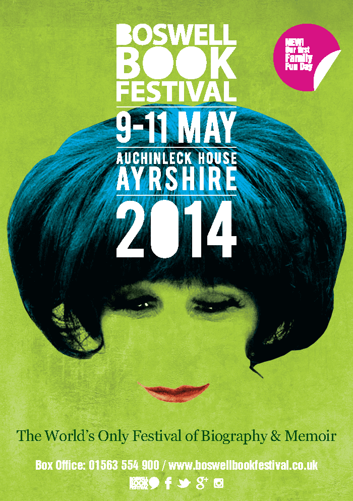 Boswell Book Festival 2014 Programme Cover