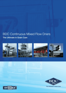 Cont mixed flow driers