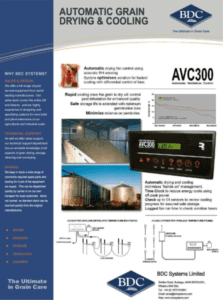 AVC300 Automatic Grain Drying Cooling 1