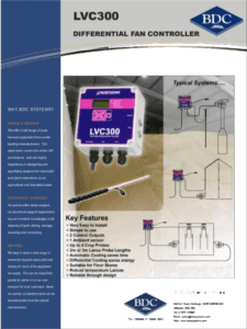 LVC300 Differential Fan Controller 1