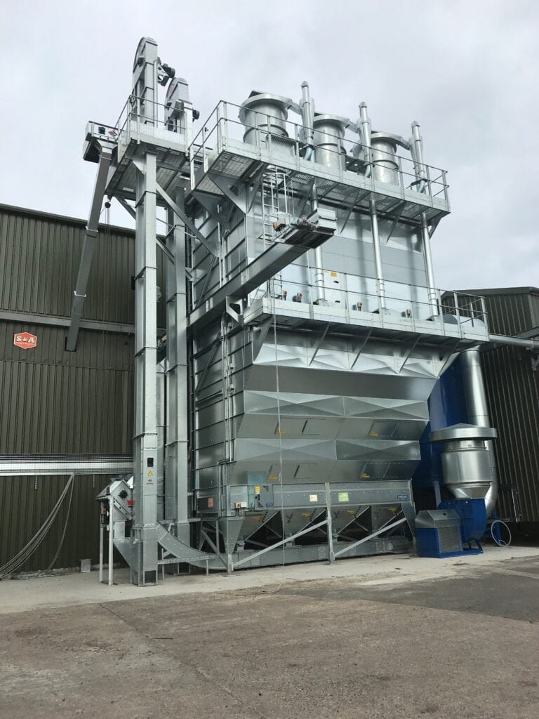 BDC SVEGMA 51tph Continous Flow Drier with Turbo Clean Dust Extraction