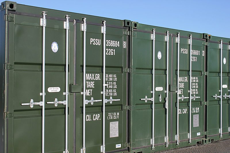 POD Hire Self-Storage containers